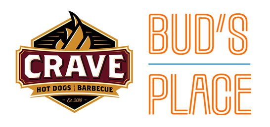 Bud's Place and Crave graphic
