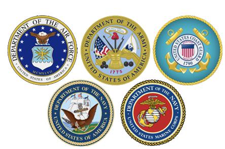 Veterans seals