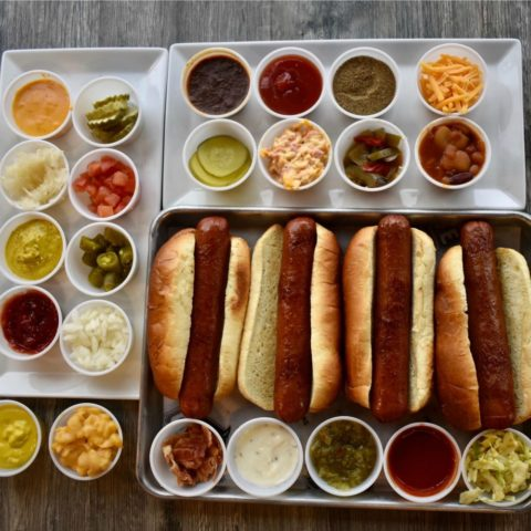 crave hot dog spread